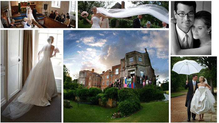Natural and relaxed wedding photographs taken at Mottisfont Abbey, Hampshire.