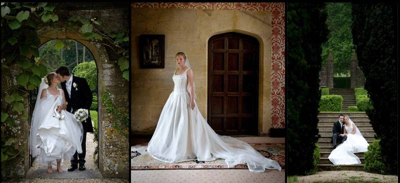 Natural and relaxed wedding photographs taken at Chantmarle Manor, Dorset