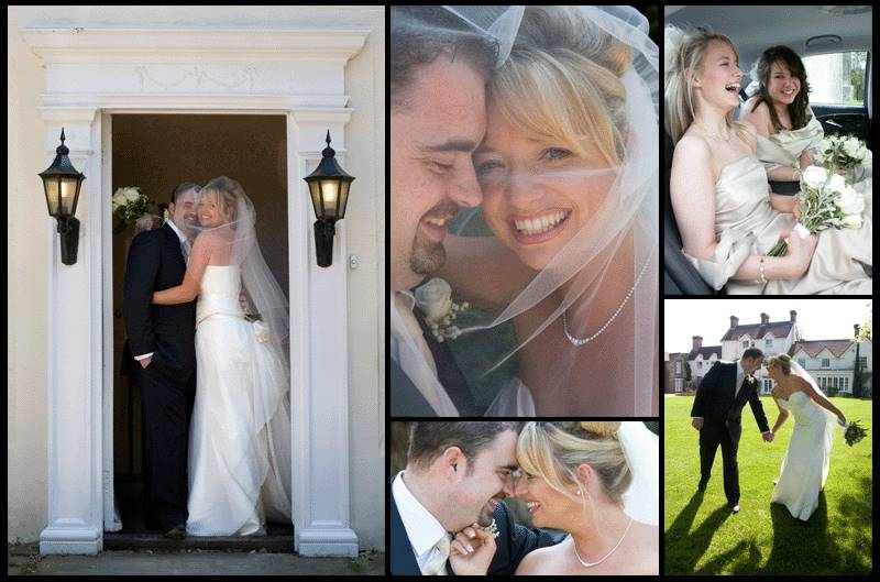 Natural and relaxed wedding photographs taken at Esseborne Manor, Hampshire.